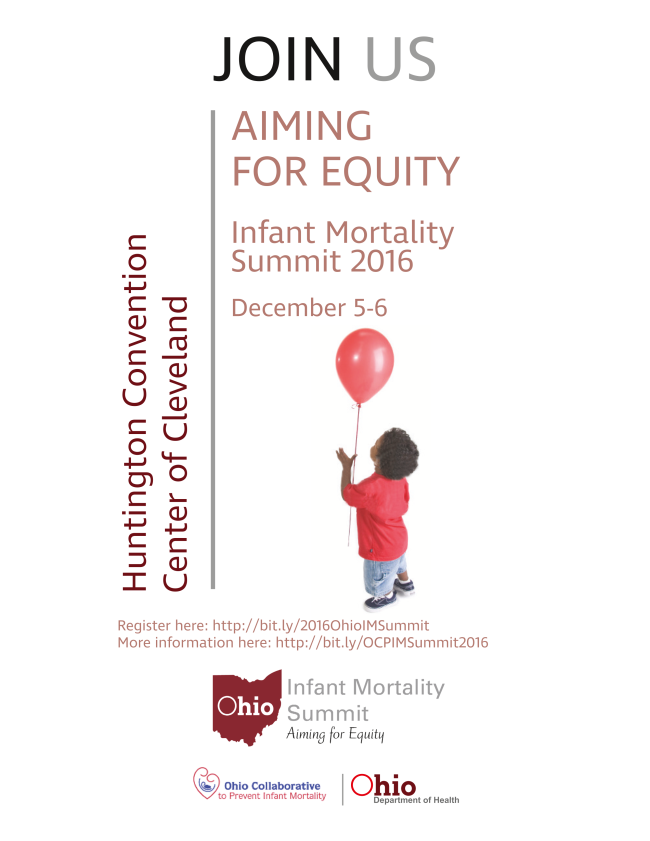 Join us the for 2016 Infant Mortality Summit