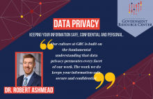 Dr. Robert Ashmeade on Data Privacy
